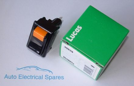 lucas 30829 159SA panel switch illuminated
